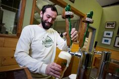 """Fiddlehead Brewery in Shelburne VT.  Their IPA is great and they have an interesting hef called """"Hef Yewe"""" that has a banana after flavor thats questionable to some, but I think its refreshing. They have only been open since Jan 2012 but are established; the owner was head brewer at Magic Hat for 12 years"""