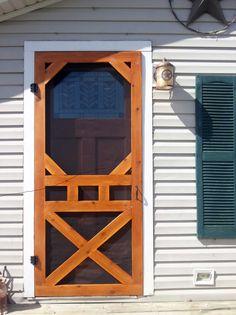 """Diy screen door """"aww love me some fresh air"""""""