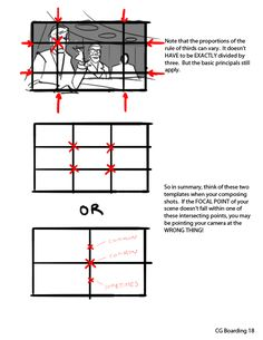 """Composition for dummies part two: The Dead Center Focal Point!** I have found that storyboards that use a nice mixture of the """"Rule of Thirds"""" and """"Dead Center"""" focal points are the most visually..."""