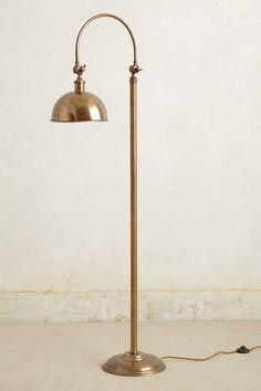 oswald floor lamp / anthropologie