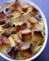 Apple and Brioche Bread and Butter Pudding