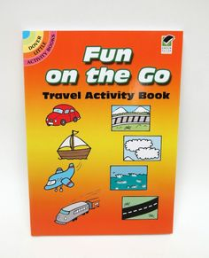 `Fun on The Go Travel` A Dover Little  Activity Book