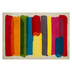 Buy John Lewis Watercolour Rug, Multi Online at johnlewis.com