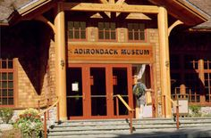 Adirondack Museum | Blue Mountain Lake, NY  Great place for when it's too rainy to walk around outside.