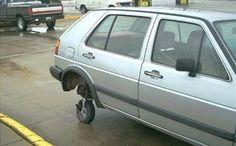 Vtipné opravy aut - 2