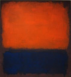 "Number 14, 1960 by Mark Rothko, b 25/09/1903 -Sensing the futility of words in describing this decidedly non-verbal aspect of his work, Rothko abandoned all attempts at responding to those who inquired after its meaning and purpose, stating finally that silence is ""so accurate."" ""My paintings' surfaces are expansive and push outward in all directions, or their surfaces contract and rush inward in all directions. Between these two poles, you can find everything I want to say."""