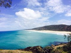 Beach at Double Island, Queensland, Australia #travel