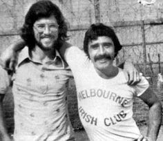 Brendan Hughes and Gerry Adams, Long Kesh prison