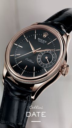 The Rolex Cellini Date. #RolexOfficial #Baselworld