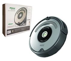 iRobot Roomba 650 Automatic Robotic Vacuum (Certified Refurbished) This Certified Refurbished product is manufacturer refurbished, shows limited or no wear, I Robot, Amazon Home, Floor Care, Hard Floor, Brush Cleaner, Vacuums, Website, Ebay, Vacuum Cleaners