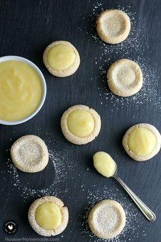 Lemon Drop Cookies #cookies #lemon #simpleeasycreative