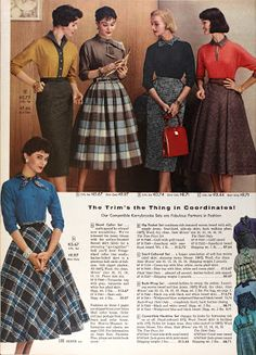 Tuppence Ha'penny: Cold Weather Vintage: Skirts & Dresses
