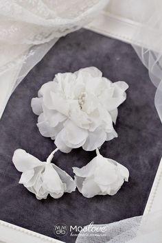 Bridal Headpiece Wedding hair clip Hair accessory by MoaLove