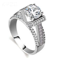Inel cu argint veritabil 925 cu incrustatii mici de zirconiu transparent, din gama inelelor pentru cupluri, bijuterii pentru femei, pentru casatorie sau de oferit cadou