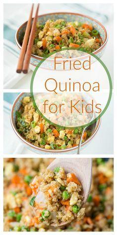 Fried Quinoa for Kids