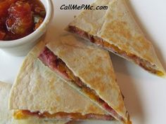 ... Quesadillas on Pinterest | Quesadillas, Chicken quesadillas and Black