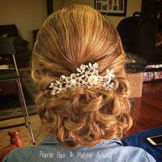 Curly+Chignon+Mother+Of+The+Bride+Updo