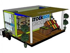 Stockbox Grocers to Convert Shipping Containers into Local Grocery Stores in Food Deserts.