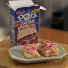 You might want to stay close to the toaster for these small breakfast tarts.