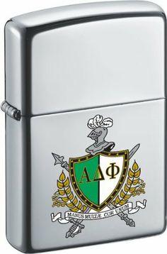 ALPHA DELTA PHI Zippo Fraternity High Polish Lighter by Alpha. $29.99