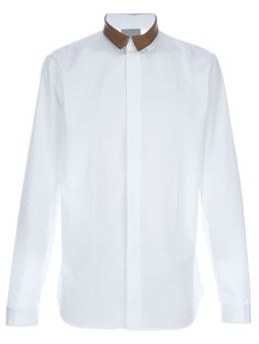dbb268d6 Dior Leather Collar Shirt $500 Mens Designer Shirts, Designer Clothes For  Men, Leather Collar