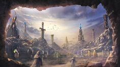 Cave city by mrainbowwj on DeviantArt