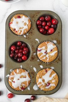PALEO ORANGE CRANBERRY MUFFINS - Organically Addison Healthy Thanksgiving Recipes, Best Paleo Recipes, Healthy Dessert Recipes, Dairy Free Recipes, Fall Recipes, Cranberry Orange Muffins, Paleo Breakfast, Winter Food, Healthy Eating Recipes