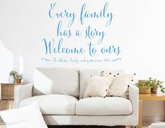 A FABULOUS FAMILY WALL STICKER THAT MAKES THE PERFECT ADDITION TO ANY HOME.