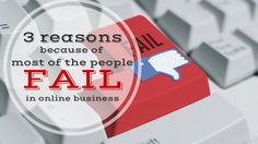 If you want to build your #onlinebusiness but you struggle here are 3 reasons for that: http://brandonline.michaelkidzinski.ws/3-reasons-because-of-most-of-the-people-fail-in-online-business/