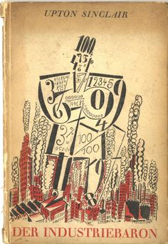 Frans Masereel, cover for Die Industriebaron 1925