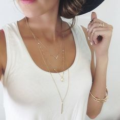 necklace is in my cart right now.  To buy or not to buy? (three strand)