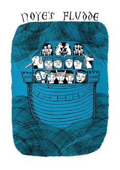 Hey, I found this really awesome Etsy listing at https://www.etsy.com/listing/129732679/noyes-fludde-screen-print
