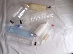 Glue the Plastic Bottles Together