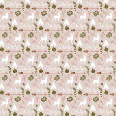Personalized Llama Minky Stroller Blanket by HelloDearestBaby