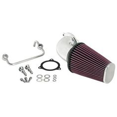 K&N AirCharger Air Intakes replace the restrictive stock OE air cleaner with a K&N High-Flow Air Filter and mandrel-bent aluminum intake tube. The efficient design provides your Harley with significantly Harley Davidson Road King, Harley Davidson Street Glide, Harley Davidson Touring, Harley Davidson Bikes, Triumph Motorcycles, Sportster Motorcycle, Custom Motorcycles, West Coast Choppers, Road Glide