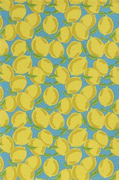 Sicilian Lemon Dishtowel    @Margaret Martinez Bham and Barrel   #kitchentowel #lemon