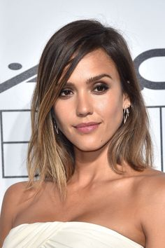"""If you want to stick with being a brunette but want to mix up your look — or go a little darker if you're a blonde — opt for a light chestnut brown, like Jessica Alba's shade. Look for terms like """"light chestnut brown"""" or """"medium brown with golden tones"""" on at-home box kits."""