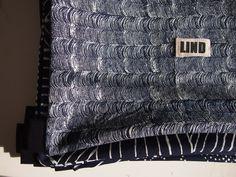 indigo patterns, backpack Batoh, vak na záda ušitý z ručně potištěné autorské modrotiskové látky.