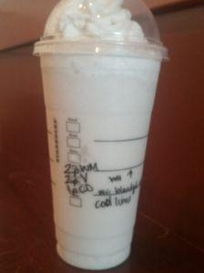 Starbucks Secret Menu: Key Lime Pie Frappuccino | Starbucks Secret Menu