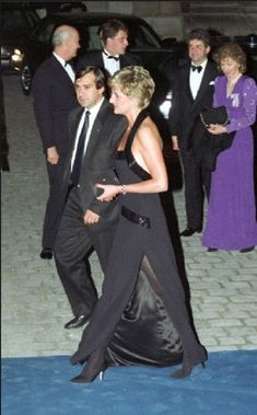 Princess Diana in France in the summer of 1997