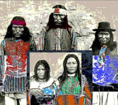 """Saatchi Art Artist Stephen Peace; New Media, """"NATCHEZ, Chief and Family - Limited Edition 1 of 3"""" #art"""