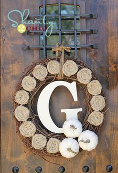 $10 DIY Fall Wreath