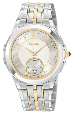 Seiko Men's SRK010 Le Grand Sport Two-Tone Watch #SEIKO #SEIKOWATCHES #SEIKOMENS #MENSWATCHES #AMAZONSHOPPING #MULTIWATCHBRAND