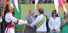 Galdino Saquarema 1ª Página: Dilma Rousseff encontrou o (X9) Michel Temer em Brasília