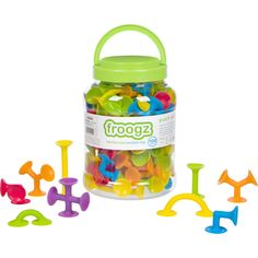 Froogz - 100 Piece Suction Toy Construction Set | Educational Building Kit *** Check out the image by visiting the link. (This is an affiliate link)