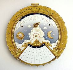 This magical perpetual calendar shows the month for every year from 2011 to 2030 (even including leap years!). $12.60