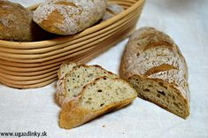 Archívy Recepty - Stránka 7 z 22 - uGazdinky. Gluten Free, Bread, Baking, Basket, Recipes, Cook, Glutenfree, Brot, Bakken
