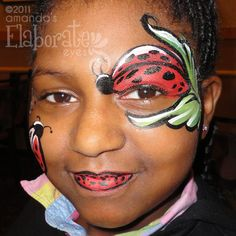 Boy Face Painting Designs | Amanda's Elaborate Eyes Face & Body Painting | Page 3