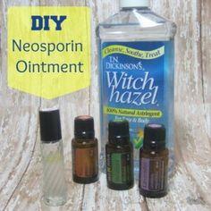 DIY Neosporin Ointment (link)