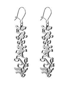 Nikama Ranka korvakorut, 50 mm kiillotettu 50th, Jewelry Design, Steel, Iron